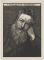 William Morris, by Robert Bryden, after  Frederick Hollyer - NPG D32473