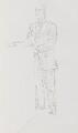 Charles Robert Saumarez Smith, by John Lessore - NPG 6501(4)