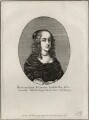 Princess Elizabeth, possibly by Edmund Dorrell, after  Wenceslaus Hollar, published by  William Richardson - NPG D28657