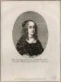 Princess Elizabeth, possibly by Edmund Dorrell, after  Wenceslaus Hollar, published by  William Richardson - NPG D28657