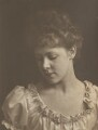 Meg Passigham (Mrs MacGowan), by Eveleen Myers (née Tennant) - NPG Ax36317