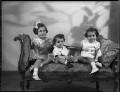 Lady Kinnoull's three children, by Bassano Ltd - NPG x152495