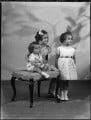 Lady Kinnoull's three children, by Bassano Ltd - NPG x152496