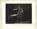 Oliver Cromwell, by Louis Pierre Henriquel-Dupont, after  Paul Delaroche - NPG D28700