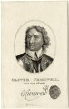 Oliver Cromwell, by Burnet Reading, after  Samuel Cooper - NPG D28715
