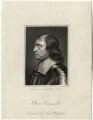 Oliver Cromwell, by John Taylor ('J.T.') Wedgwood, after  Samuel Cooper - NPG D28729