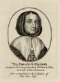 Elizabeth Cromwell (née Bourchier), after Unknown artist - NPG D28739