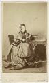 Marianne Herbert (née Lempriere), by Robert Faulkner - NPG x18434