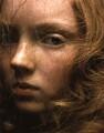 Lily Cole as Elizabeth I, by Eitan Lee Al - NPG x131273