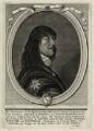 James Stanley, 7th Earl of Derby, by David Loggan, after  Sir Anthony van Dyck - NPG D28765