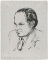 Sir Harold Beresford Butler, by Edmond Xavier Kapp - NPG D32482