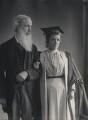 Henry Sidgwick; Eusapia Palladino, by Eveleen Myers (née Tennant) - NPG Ax68563