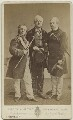 Thomas Edward Corrie Burns Righton; William J. Hill; Walter H. Fisher in 'The Happy Land', by Window & Grove - NPG Ax18170