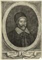 Arthur Jackson, by David Loggan, after  Bownest - NPG D28853