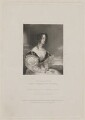 Lady Charlotte Talbot (née Butler), by Thomas Anthony Dean, published by  Edward Bull, after  Andrew Morton - NPG D32503