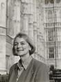 Anne Campbell (née Lucas), by Julia Hedgecoe - NPG P751(6)