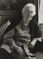 Kathleen Raine, by Julia Hedgecoe - NPG P751(16)