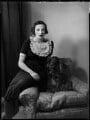 Fiona Agar (née Pratt), Countess of Normanton, by Bassano Ltd - NPG x152603
