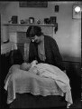 Meriel Edith Milicent Oliver (née Moore); Hilda Mary (née Burrows), Lady Moore, by Bassano Ltd - NPG x152609