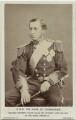 Prince Alfred, Duke of Edinburgh and Saxe-Coburg and Gotha, by London Stereoscopic & Photographic Company - NPG Ax131365