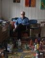 John Hoyland, by Dennis Toff - NPG x131346
