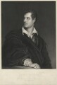 George Gordon Byron, 6th Baron Byron, by Robert Graves, after  Thomas Phillips - NPG D32523