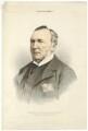 Hugh McCalmont Cairns, 1st Earl Cairns, by Maclure & Macdonald, after  Fradelle - NPG D32534