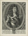 King Charles II, by Pieter de Jode I, after  Gonzales Coques (Cockes, Cocx, Cox) - NPG D29284