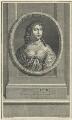 Anne Hyde, Duchess of York, by Charles Louis Simonneau (Simoneau), after  Sir Peter Lely - NPG D29312