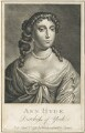 Anne Hyde, Duchess of York, after Sir Peter Lely, published by  William Richardson - NPG D29313