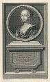 Henrietta Anne, Duchess of Orleans, by Jean Audran, after  Claude Mellan - NPG D29333