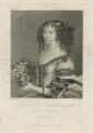 Henrietta Anne, Duchess of Orleans, by Charles Turner, after  Unknown artist, published by  Samuel Woodburn - NPG D29338