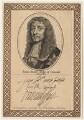 James Butler, 1st Duke of Ormonde, after David Loggan, published by  John Thane - NPG D29350