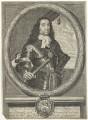 George Monck, 1st Duke of Albemarle, by James Gammon, after  David Loggan - NPG D29375