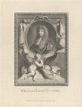 William Russell, Lord Russell, by Thomas Cook, published by  George Kearsley, after  Sir Godfrey Kneller, Bt - NPG D29414