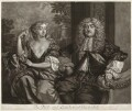 John Maitland, Duke of Lauderdale; Elizabeth Murray, Duchess of Lauderdale and Countess of Dysart, by Robert Williams, published by  Richard Tompson, after  Sir Peter Lely - NPG D29432