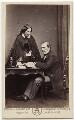 Catherine Gladstone (née Glynne); William Ewart Gladstone, by Samuel Alexander Walker - NPG x5975