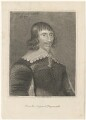 John Campbell, 1st Earl of Loudoun, after George Jamesone, published by  Isaac Herbert - NPG D29445