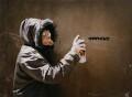 Banksy, by James Pfaff - NPG x131404