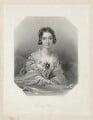 Charlotte Canning (née Stuart), Countess Canning, by William Henry Egleton, after  John Hayter - NPG D32589