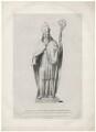 Thomas de Cantilupe, by Richard James Lane, after  Henry Corbould, after  Richard Westmacott - NPG D32594