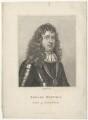 Edward Montagu, 1st Earl of Sandwich, by E. Bocquet, after  Sir Peter Lely - NPG D29496