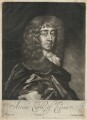 Arthur Capel, 1st Earl of Essex, by Edward Lutterell (Luttrell), published by  John Lloyd, after  Sir Peter Lely - NPG D29500