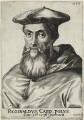 Reginald Pole, by Frans van den Wyngaerde (Wijngaerde), after  Unknown artist - NPG D32614