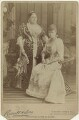 Princess Mary Adelaide, Duchess of Teck; Queen Mary, by James Russell & Sons - NPG x20131