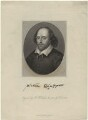 William Shakespeare, by Benjamin Holl, published by  George Virtue, after  Jacobus Houbraken - NPG D32618