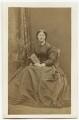 Mrs Oliver, by William Jeffrey - NPG x21684