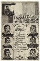 The Farewell Sermons of...(John Collins; Ralph Venning; Edmund Calamy; Lazurus Seaman; Matthew Newcomen; Beerman), after Unknown artist - NPG D29683