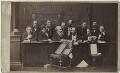 The Jury at the Tichborne Criminal Trial, by (George) Herbert Watkins - NPG Ax30398