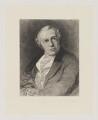 William Blake, by William Bell Scott, after  Thomas Phillips - NPG D32671